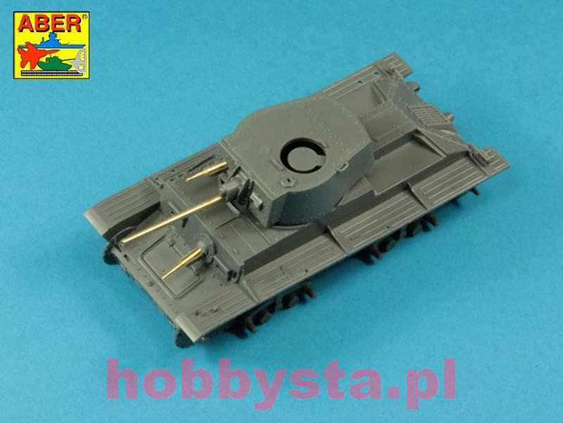 1//35 ABER 35 L-42 German 2 cm tank gun barrel L//56 for KwK 38
