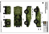 Scale Models Trumpeter 05517 Russian BTR-40 APC