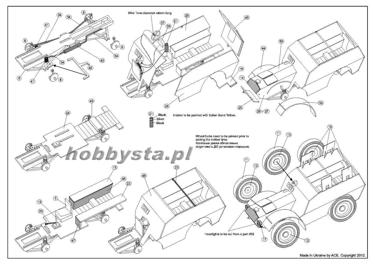 Autoprotetto S37 Armored Car Ace Wiring Diagram 72284