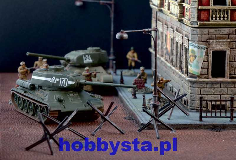 Battle Of Berlin Diorama Set Italeri 6112